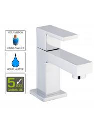 BWS Square Toiletkraan 1/2'' Chroom Met Keramisch Binnenwerk 1
