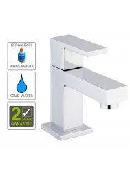 BWS Square Toiletkraan 1/2'' Chroom Met Keramisch Binnenwerk shop