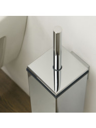 Toiletborstelhouder Tiger Items Muur Chroom 38 cm