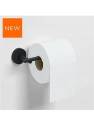 Toiletrolhouder Clou Flat Zonder Klep 16.5cm Poedercoating Mat Zwart