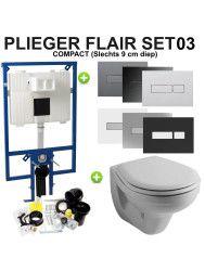 Plieger Flair Compact set03 Sphinx Econ 2.0 met Plieger Flair drukplaat