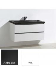 Badkamermeubelset Sanilux Trend Stone 100x47x50 cm (in twee kleuren leverbaar)