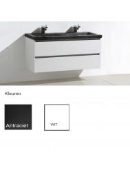 Badkamermeubelset Sanilux Trend Stone 120x47x50 cm (in twee kleuren verkrijgbaar)