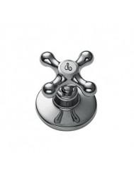 Tres Clasic-Tres Bidetkraan Koud 53212501 Brons
