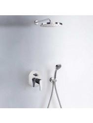Tres Eco inbouw doucheset chroom 07099002