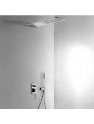 Tres Slim inbouw doucheset chroom met handdouche chroom 20218003