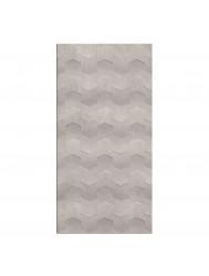 Wandtegel Cristacer Trident Gris Decor 45x90cm (Doosinhoud 1,21m²)