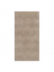 Wandtegel Cristacer Trident Taupe Decor 45x90cm (Doosinhoud 1,21m²)