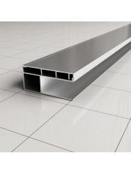 Verbredingsprofiel voor Douchewand Wiesbaden Aluminium 3x200cm