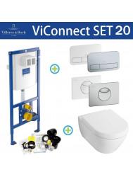 Villeroy & Boch ViConnect Toiletset SET20 Subway 2.0 | Tegeldepot.nl