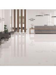 Vloertegel XL Etile Blanco Pulido Glans Wit 120x120 cm (1.44m² per Tegel)
