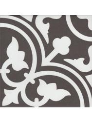 Vtwonen Douglas & Jones Vloer en Wandtegel Vintage Flavie Noir 20x20 cm