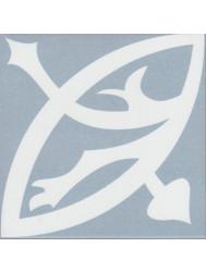 Vtwonen Douglas & Jones Vloer en Wandtegel Vintage Zelie Blue 20x20 cm