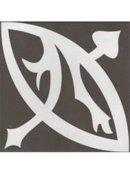 Vtwonen Douglas & Jones Vloer en Wandtegel Vintage Zelie Noir 20x20 cm