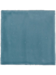 Vtwonen Wandtegel Villa Petrol Blue Glans 13x13 cm (doosinhoud 0.50 m2)