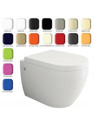 Wandcloset Creavit Bocchi Jet Flush Rimfree (verschillende kleuren)
