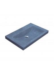 Wasblad Sanilux Compact Stone Hardsteen 60x38x5cm Zonder Kraangat