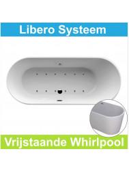 Whirlpool Wiesbaden Libero 178x80 cm Luchtsysteem (heater en afvoer optioneel)