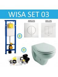 Wisa XS set03 Sphinx econ (Met Argos of Delos drukplaat)