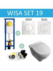 Wisa XS set19 Villeroy & Boch O.Novo met Argos/Delos drukplaat
