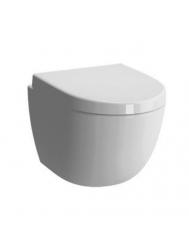 Hangtoilet Boss & Wessing Zero Compact 49.5 cm Diepspoel Incl. zitting