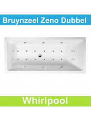 Whirlpool Bruynzeel Zeno 180 x 80 cm Dubbel systeem | Tegeldepot.nl