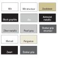 Handdoekradiator Boss & Wessing Covallina Retta enkel 1800x602 mm (13 kleuren)