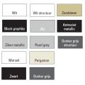 Designradiator Vale 1820 x 660 mm Black Graphite