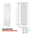 Designradiator Boss & Wessing Quadroto 2006 x 603 mm | Tegeldepot.nl