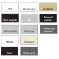 Handdoekradiator Aika Retta 1800 x 295 mm Antraciet Metallic