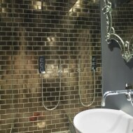 Wandtegel Rajoles Classic Golden Glossy 7,5x15 cm (doosinhoud: 1,00 m2 per doos)