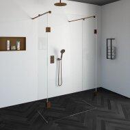 Doorloopdouche Compleet Just Creating Profielloos 120x200 cm 120/50/50 Koper