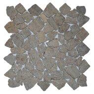 Mozaïek Y Sunset Brown Marmer 30x30 cm (Prijs per 1m²)