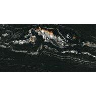 Vloertegel Navarti Leeds Negro Marmerlook 60x120 cm (doosinhoud 1.44 m2)
