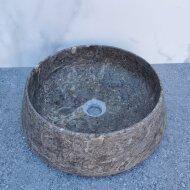 Waskom Sanilux Opzetkom 41x13 cm Zilver