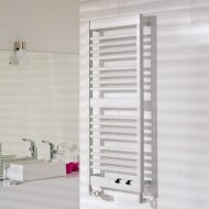 Handdoekradiator IP Athena Wit Verkrijgbaar in 9 verschillende maten (Ook in elektrische uitvoering)