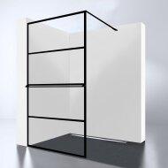 Inloopdouche Best Design Noire 90x200cm 10mm Easy Clean Mat Zwart