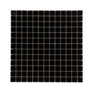 Mozaïek Montreal Kristal 31.8x31.8 cm Helder Glas Zwart (Prijs Per 1.01 m2)
