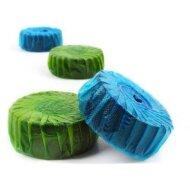 12 Geberit StarBlueDisc Toiletblokjes Groen Halfjaar verpakking. (Verbruiksartikelen)