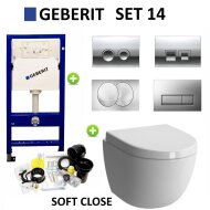 Geberit UP100 Set14 Zero met Delta drukplaten