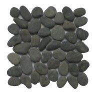 Pebble big black gray 30x30 Y