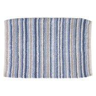 Badmat Differnz Origo Antislip 60x100 cm Katoen Blauw Ecru