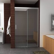 BWS Nisdeur Softclose 2.0 Douchedeur 90x200 cm 8mm Aluminium NANO Coating