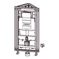 Inbouwreservoir voor Hoekmontage Geberit Gis Easy 120x60x15 cm