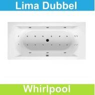 Ligbad Riho Lima 180 x 80 cm Whirlpool Dubbel systeem