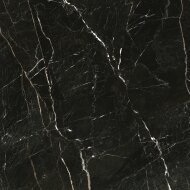 Vloertegel Navarti Strom Negro Marmerlook 120x120 cm