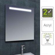 BWS LED Spiegel Tigris met Lichtschakelaar 60x80x3.1 cm (incl bevestigingsmateriaal)