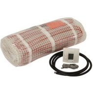 1m2 B&W Heat Elektrische Vloerverwarmingsmat 220V 125W Compleet