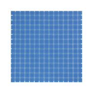 Mozaïek Amsterdam Basic 32.2x32.2 cm Glas Met Fijne Korrels Helder Blauw (Prijs Per 1.04 m2)