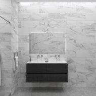 Badkamermeubelset Gliss Zeus 120 cm Zwart Eiken